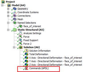 Using a Snippet to Extract Ansys Workbench Results to a Text File